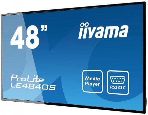 Monitor IIYAMA 48 LE4840S-B1 SVA FullHD USB Media Player