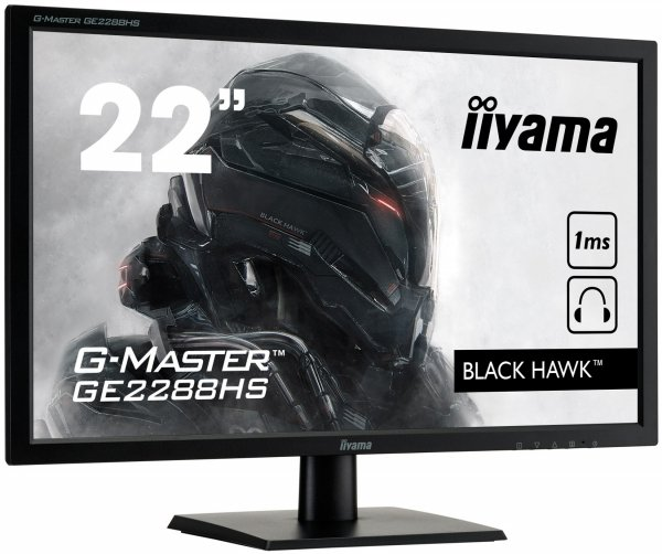 IIYAMA G-MASTER BLACK HAWK GE2288HS-B1 22 1ms Gaming FreeSync + GRA GRATIS