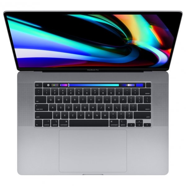 MacBook Pro 16 Retina Touch Bar i7-9750H / 32GB / 2TB SSD / Radeon Pro 5500M 8GB / macOS / Space Gray (gwiezdna szarość)