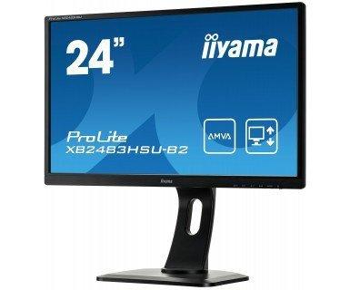 IIYAMA 24'' XB2483HSU AMVA+ 4ms FHD PIVOT