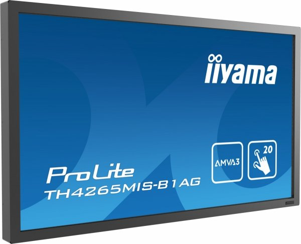 Monitor IIYAMA 42 TH4265MIS-B1AG AMVA FullHD DAISY CHAIN Support, multi-touch