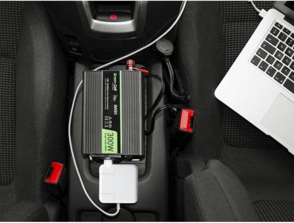 Przetwornica Samochodowa Green Cell ® 12V do 230V, 500W/1000W