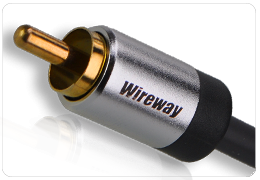 Kabel RCA Wireway 3m 2RCA