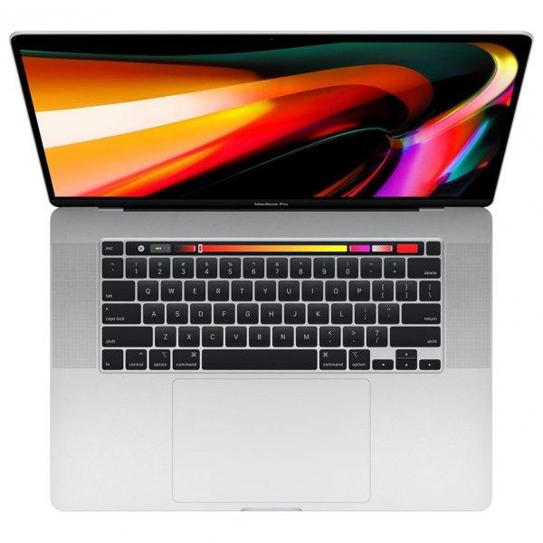 MacBook Pro 16 Retina Touch Bar i9-9980HK / 16GB / 2TB SSD / Radeon Pro 5300M 4GB / macOS / Silver (srebrny)