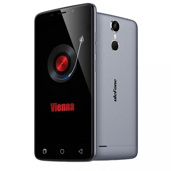 """Smartfon Ulefone Vienna 32GB LTE FHD 5.5"""" (szary) POLSKA DYSTRYBUCJA Zestaw etui+szkło"""