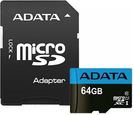 ADATA Premier 64GB microSDXC UHS-I 85MB/s + adapter