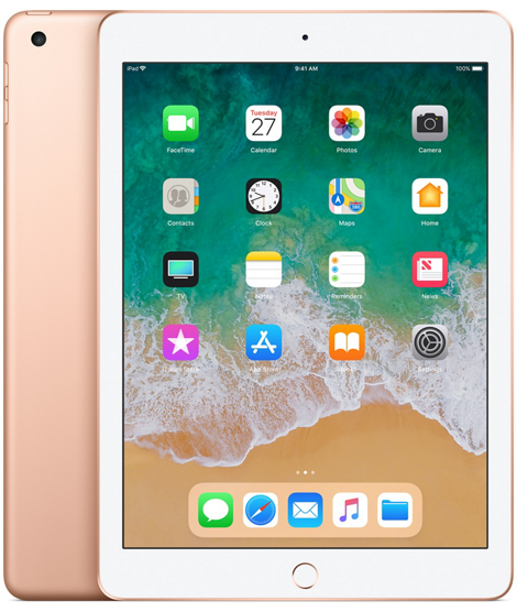 Apple iPad 6-gen 9,7 128GB Wi-Fi Gold