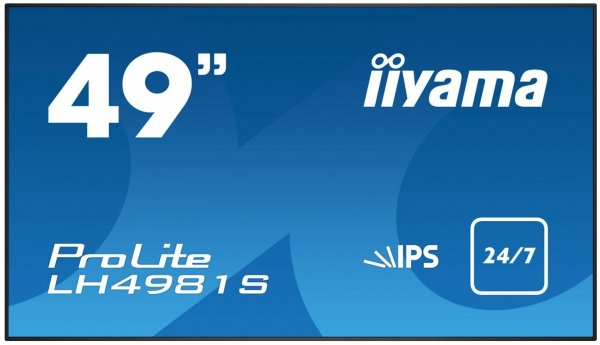 Monitor IIYAMA 49 LH4981S-B1 IPS FullHD DAISY CHAIN Support, USB Media Player, OPS, 24/7