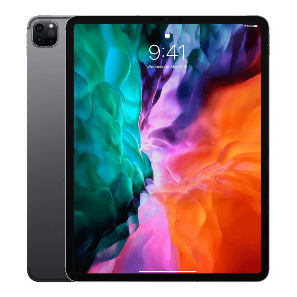 Apple iPad Pro 12,9 / 128GB / Wi-Fi + LTE / Space Gray (gwiezdna szarość) 2020 - nowy model