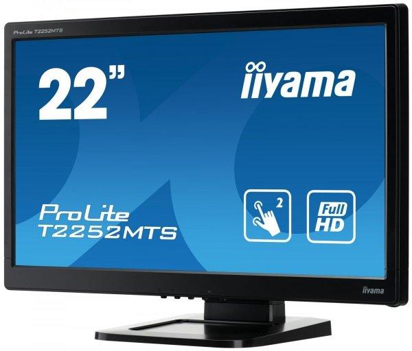 "IIYAMA T2252MTS-B5 22"" multi-touch HDMI FullHD"