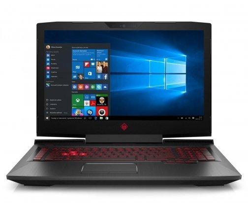 HP Omen 17-an007nw i7-7700HQ/8GB/128GB SSD + 1TB HDD/DVD-RW/Win10 GTX1050Ti-4GB