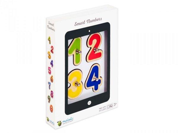 Marbotic Smart Numbers - gra edukacyjna z drewnianymi cyferkami do tabletu