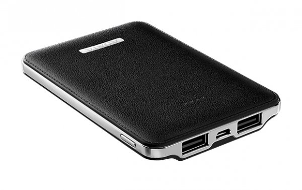 ADATA PV120 Power Bank 5100mAh 2.1A LED - Czarny