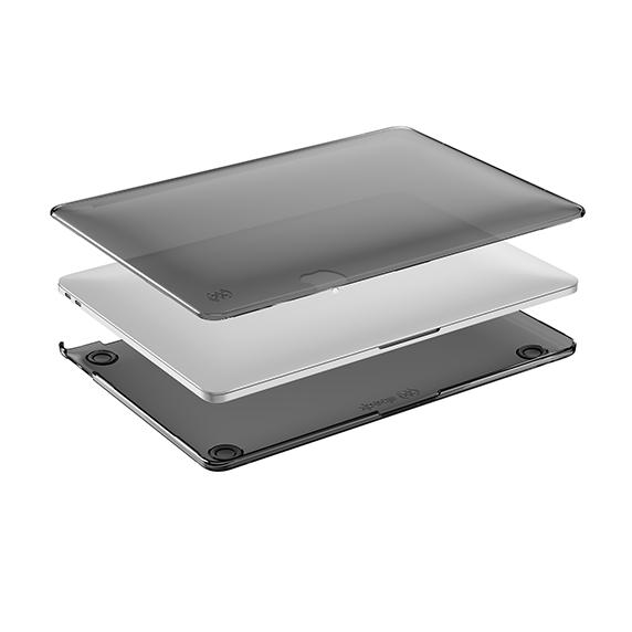 """Speck SmartShell Obudowa do MacBook Pro 15"""" 2018/2017/2016 Onyx Black Matte (czarny przezroczysty matowy)"""