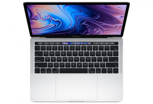 MacBook Pro 13 Retina TrueTone TouchBar i7-8559U/8GB/1TB SSD/Iris Plus Graphics 655/macOS High Sierra/Silver