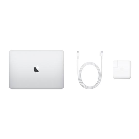 MacBook Pro 13 Retina Touch Bar i7 1,7GHz / 16GB / 2TB SSD / Iris Plus Graphics 645 / macOS / Silver (2019)
