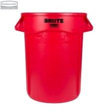 Kontener okrągły BRUTE® 166,5L Red
