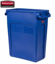 Kosz Slim Jim® With Venting 60L Blue