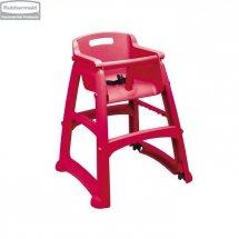 Krzesełko dla dzieci Sturdy Chair™ Red z ochroną antybakteryjną Microban®