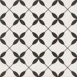 Opoczno Patchwork Clover Black Pattern 29,8x29,8