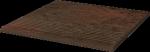 Paradyż Semir Brown Stopnica Prosta 30x30