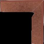 Paradyż Taurus Brown Cokół 2 El. Prawy 8,1x30