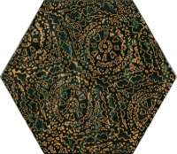 Urban Colours Green Inserto Szklane Heksagon A 17,1x19,8