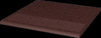 Natural Brown Stopnica Prosta Duro 30x30