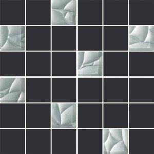 Paradyż Esten Bianco/Grafit Mozaika 29,8x29,8