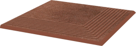 Paradyż Taurus Brown Stopnica Narożna 30x30