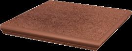 Paradyż Taurus Brown Kapinos Stopnica Narożna 33x33