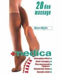 Podkolanówki MASSAGE 20 DEN Medica M 2000