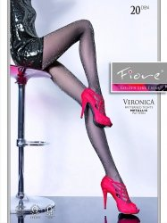 Rajstopy VERONICA 20 DEN lurex Fiore G5122