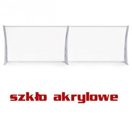 240x100 SZKLANY Daszek simple OXY markiza