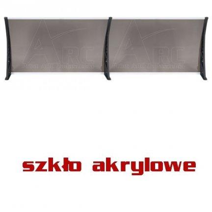 300x100 Daszek simple markiza modułowa