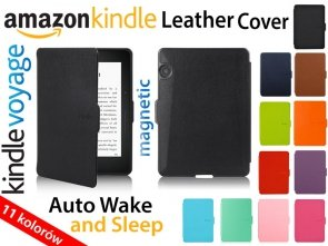 Skórzane Etui Amazon Kindle Voyage Cover