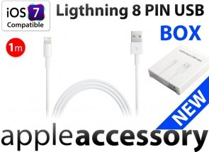 Kabel Apple Lightning 8 PIN USB iPhone 5 iPad 4 mini iOS7