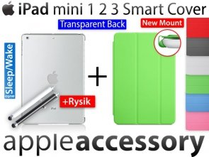 iPad mini 1 2 3 Smart Cover + Back Cover Etui Case