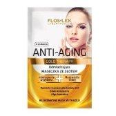 Floslek Anti Aging Gold Therapy Maseczka ze zlotem  5ml x 2