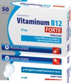VITAMINUM B12 Forte 10mcg x 50 tabletek