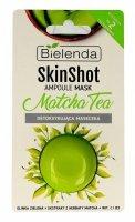 Bielenda Skin Shot Maseczka detoksykująca na twarz Matcha Tea  8g