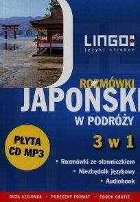 Japoński w podróży Rozmówki 3 w 1 + CD