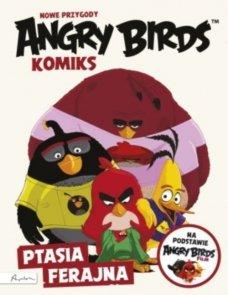 Angry Birds Nowe przygody Ptasia ferajna Komiks filmowy