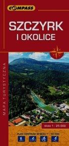 Szczyrk i okolice mapa turystyczna 1:25 000