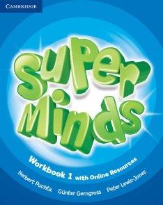 Super Minds 1 Workbook with Online Resources