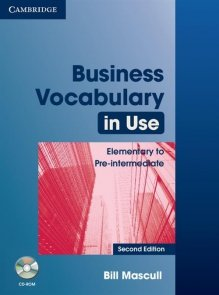 Business Vocabulary in Use: Elementary to Pre-intermediate + CD