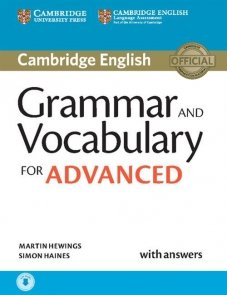 Grammar and Vocabulary for Advanced with answers