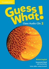 Guess What! 2 Class Audio 3CD British English