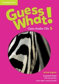 Guess What! 5 Class Audio 3CD