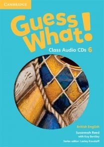 Guess What! 6 Class Audio 3CD British English